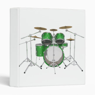 Green Drum Kit: Binder
