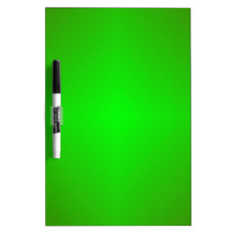 Green Dry-Erase Board