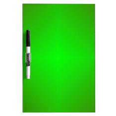 Green Dry-erase Board at Zazzle