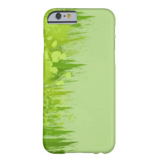 Green Dschungel Painting Splash Design Barely There iPhone 6 Case