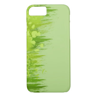 Green Dschungel Painting Splash Design iPhone 8/7 Case