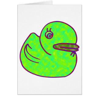 Green Duck Card