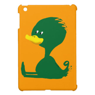 Green ducky cover for the iPad mini