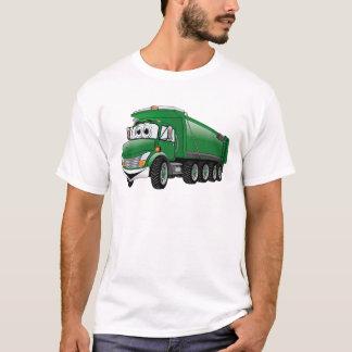 Green Dump Truck 10w Cartoon T-Shirt