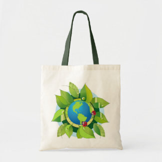 Green_Earth (2) Budget Tote Bag
