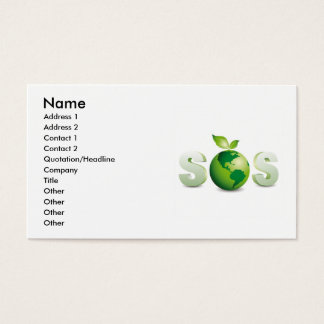 Green_Earth (3), Name, Address 1, Address 2, Co... Business Card