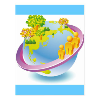 Green_Earth (4) Postcard