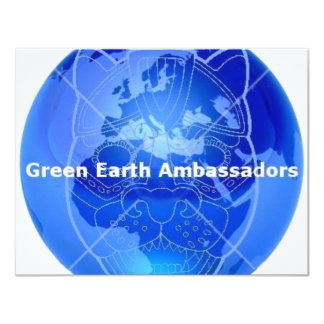 Green Earth Ambassadors Card