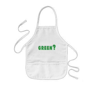 GREEN? Earth Day Kids' Apron