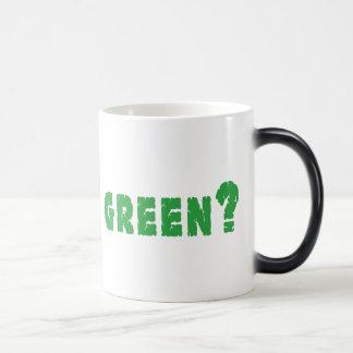 GREEN? Earth Day Magic Mug