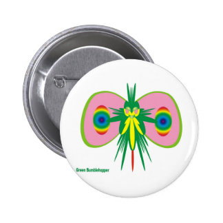 Green - Earth does not flourish without these! Button