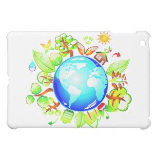 Green Earth Eco Friendly for Earth Day iPad Mini Cover