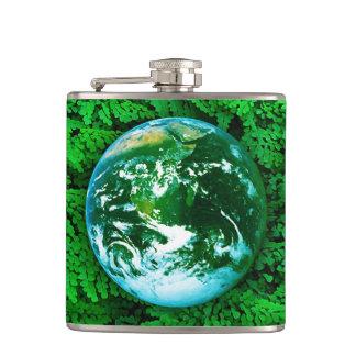 Green Earth - ecological awareness Flask