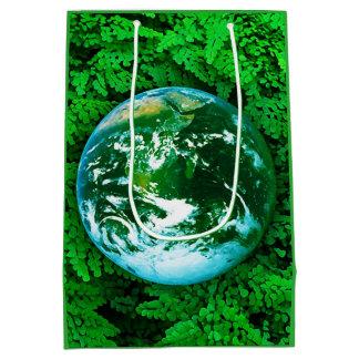Green Earth - ecological awareness Medium Gift Bag