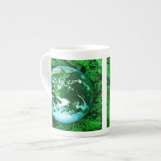 Green Earth - ecological awareness Tea Cup