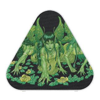 Green Earth Fairy Illustration by Al Rio Bluetooth Speaker
