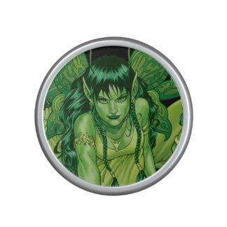 Green Earth Fairy Illustration by Al Rio Speaker