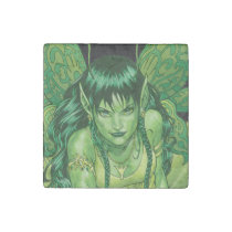 fairies, elves, sprites, magical beings, art, al rio, drawing, illustration, fae, wings, [[missing key: type_giftstone_magne]] com design gráfico personalizado