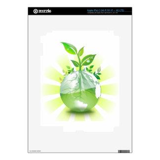 Green Earth iPad 3 Skin