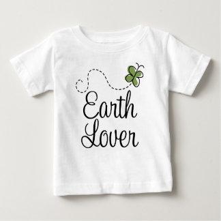 Green Earth Lover Butterfly T-shirt