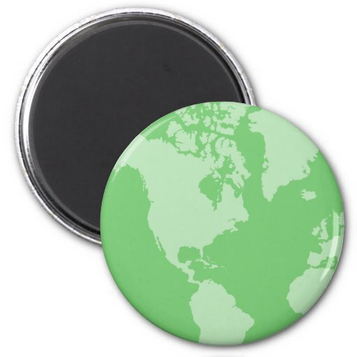 Green Earth Magnet Magnets