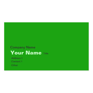 Green earth map business cards