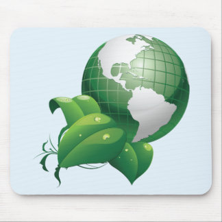 Green Earth Nature Sustainable Environment Mousepads