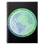 Green Earth notepad Spiral Notebook