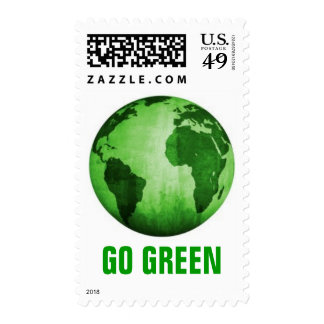 Green Earth Stamp