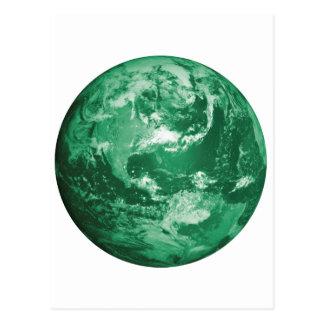 green earth postcard