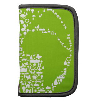 Green Earth Recycle Folio Planner