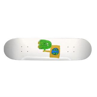 Green earth skate decks