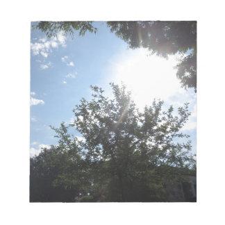 Green Earth Sky NewJersey CherryHill USA NVN685 FU Memo Pads