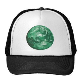 green earth trucker hat