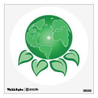 Green Earth Wall Decal