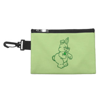 Green Easter Bunny Accessory Bag