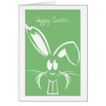 Green Easter Bunny Easter Cards