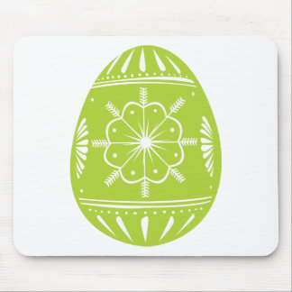 Green Easter Egg Mouse Pad