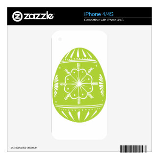 Green Easter Egg Skins For The iPhone 4S