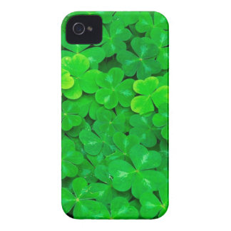 Green Eco-friendly Clover Best iPhone 4 Case