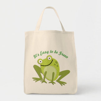 Green Eco-Friendly Shopping Tote