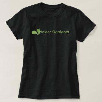 Green Eco Master Gardener Logo T-shirt