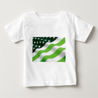Green (ecology) flag baby T-Shirt