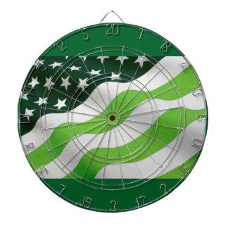 Green (ecology) flag dart boards
