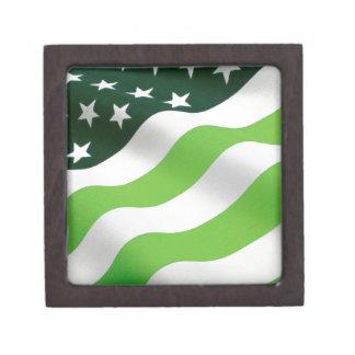 Green (ecology) flag premium gift box