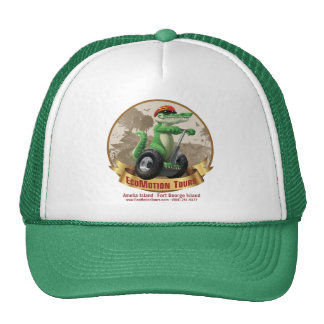 Green EcoMotion Tours Hat