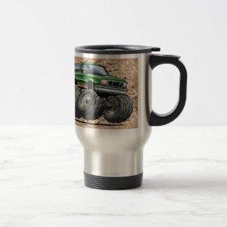 Green Eddie Bauer Bronco 15 Oz Stainless Steel Travel Mug