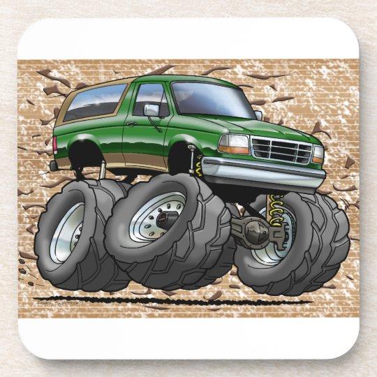 Green Eddie Bauer Bronco Coaster