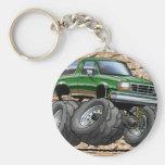 Green Eddie Bauer Bronco Keychains