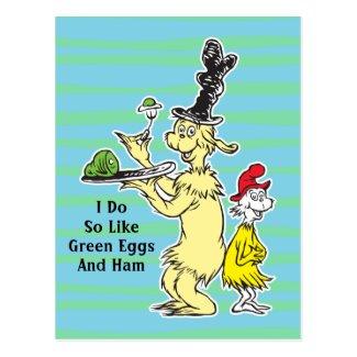 Green Eggs and Ham | Joey & Sam-I-Am Postcard